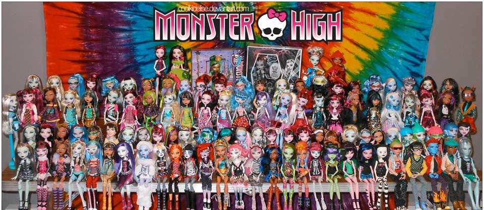 Největší výstava panenek Barbie & Monster High!