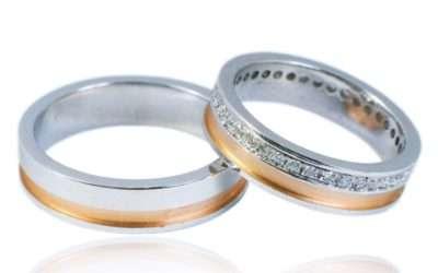 Snubní prsteny – akce sleva 50%!